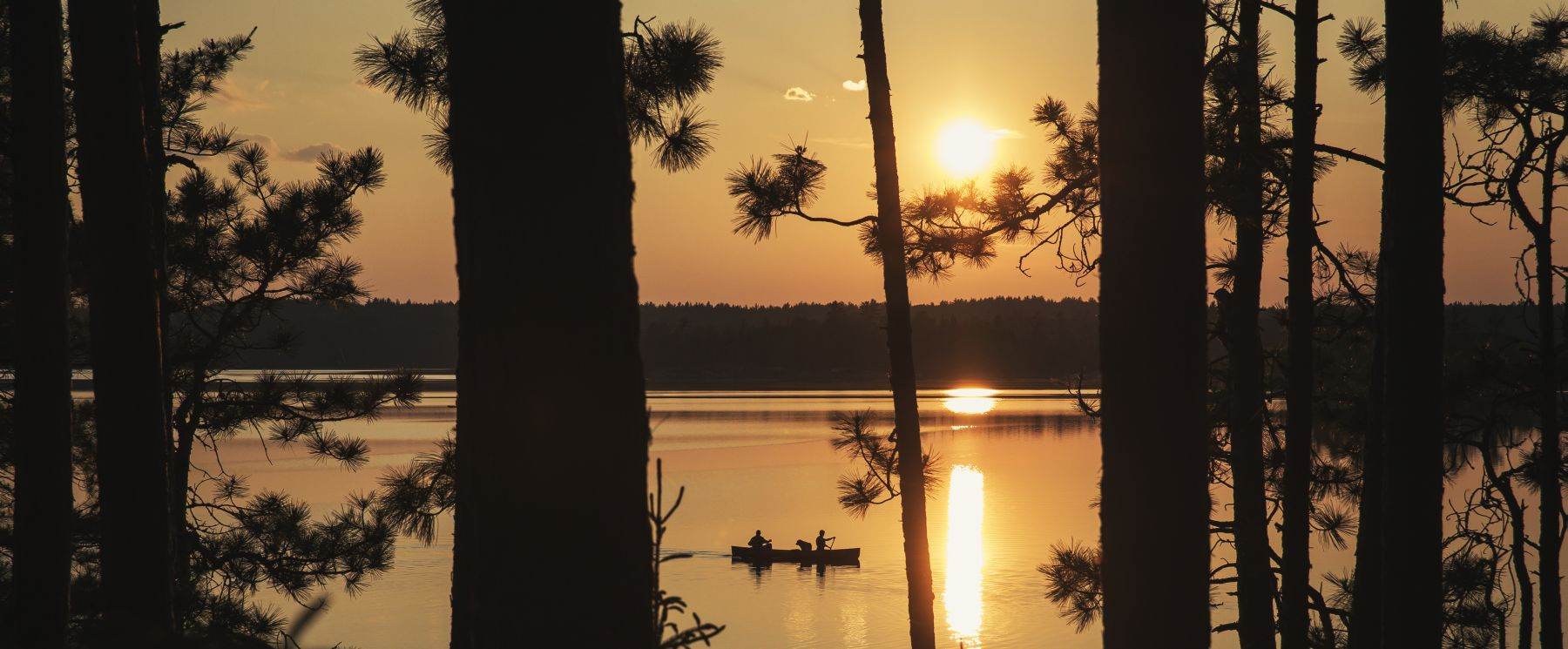 Canoeing at Quetico Provincial Park